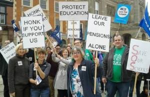 Забастовки учителей Великобритании: достучаться до правительства