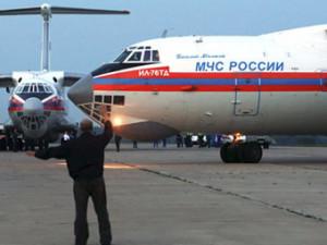 Самолет МЧС отправился в Тунис