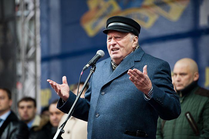 На одном из митингов Жириновский признал свое политическое бессилие