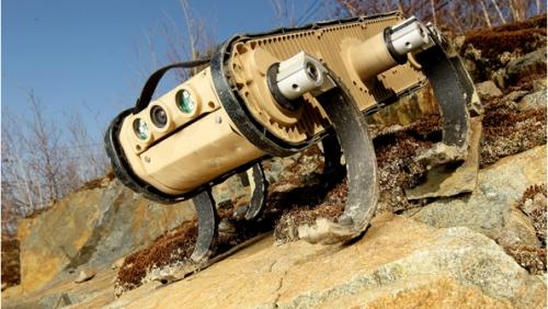 Робот RHex от компании Boston Dynamics получил ниндзя-ноги