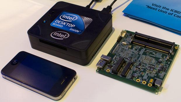 Интел представила миниатюрный компьютер