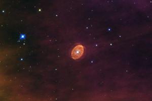 Телескоп «Хаббл» зафиксировал снимок готовой к взрыву звезды