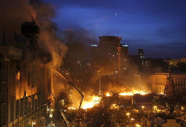 Вчера в Киеве погибло 60 человек и свыше 500 ранено