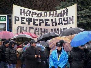 В Луганске состоялся «народный референдум»