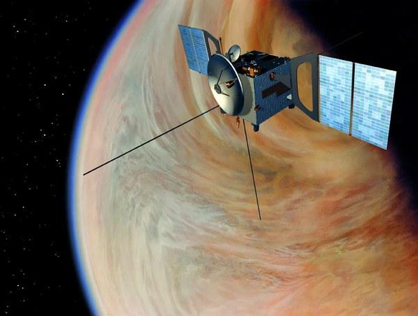 Венера – экспресс зафиксировала радугу на Венере