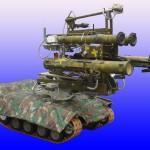 Россию будут охранять переносные робототехнические системы