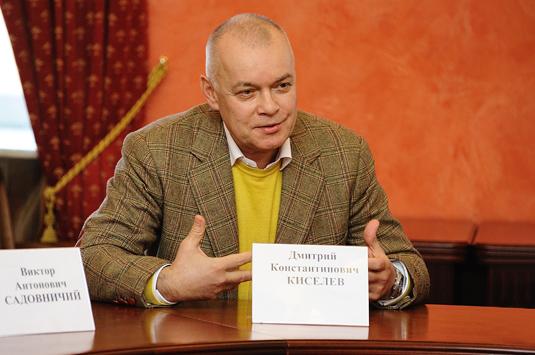 Дмитрия Киселева лишили державной награды литовского государства