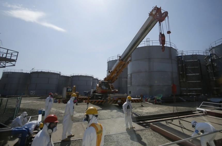 Работы на атомной электростанции «Фукусима-1» вновь приостановлены