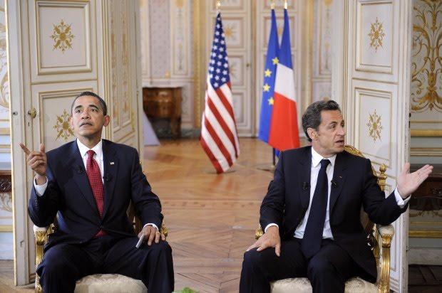 Американский и французский президенты все еще пугают Россия своими санкциями