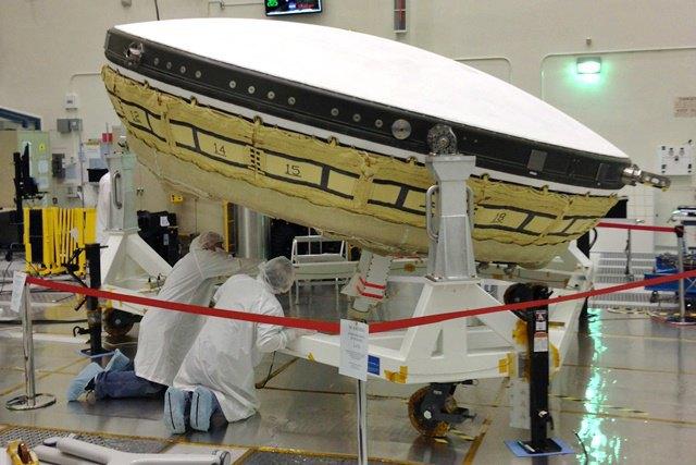 NASA показало свою новую летающую тарелку, которая будет осваивать Марс